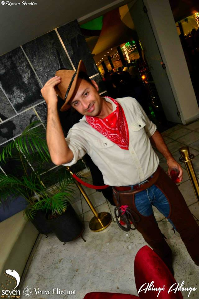 82. Cowboy Halloween Costume Party Nairobi Kenya Akinyi Adongo