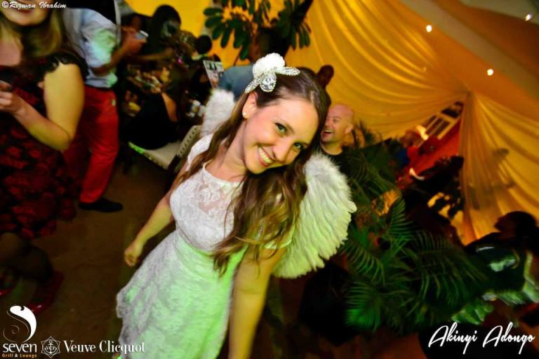 83. Angel Halloween Costume Party Nairobi Kenya Akinyi Adongo