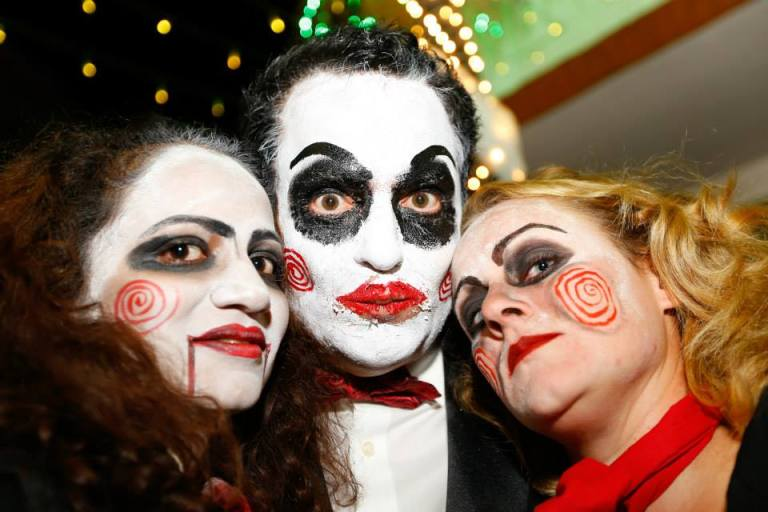 84. Saw Halloween Costume Party Nairobi Kenya Akinyi Adongo