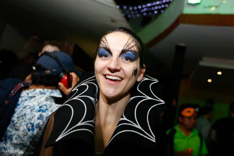 90. Spiderwoman Halloween Costume Party Nairobi Kenya Akinyi Adongo