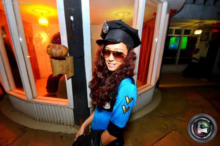 91 Cops Halloween Costume Party Nairobi Kenya Akinyi Adongo