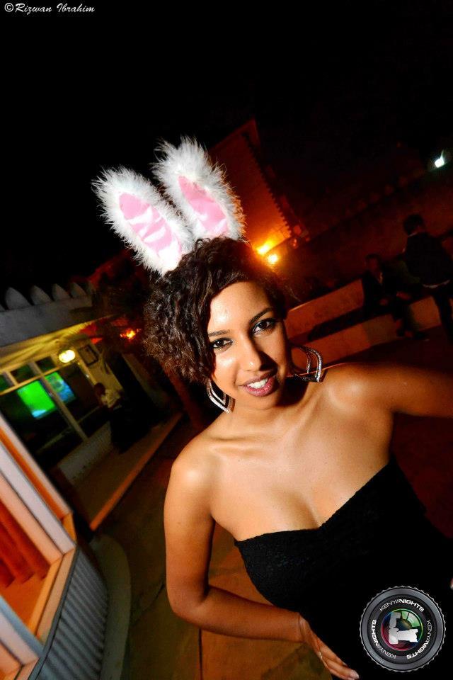 92. Bunny Halloween Costume Party Nairobi Kenya Akinyi Adongo
