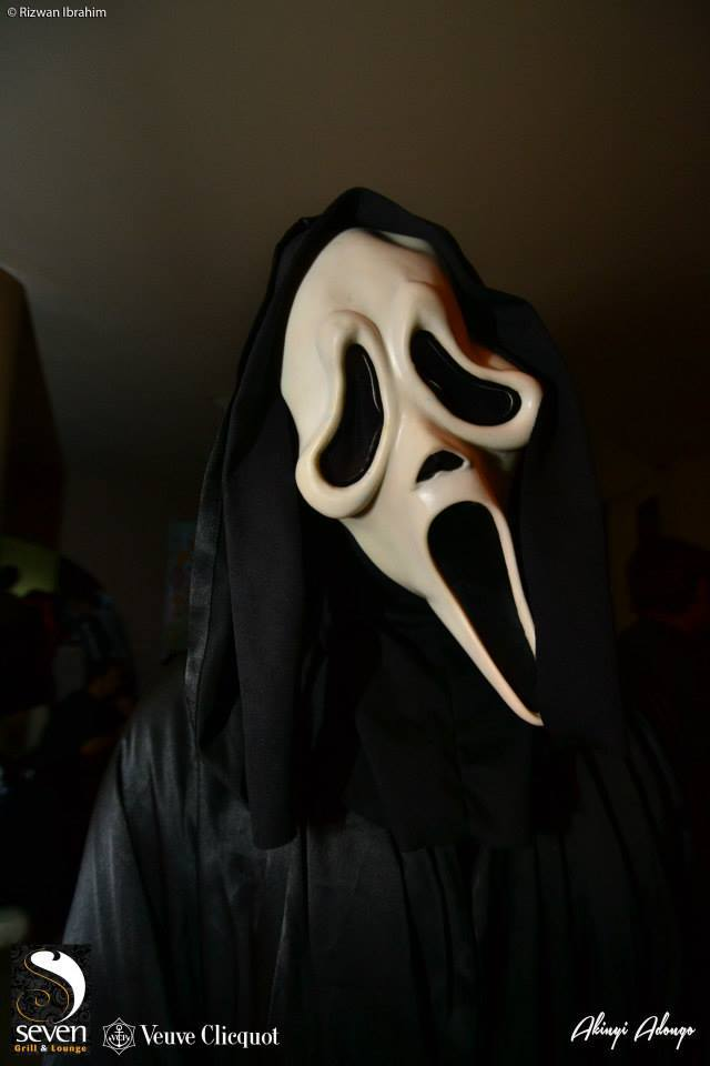 95. Scream Halloween Costume Party Nairobi Kenya Akinyi Adongo