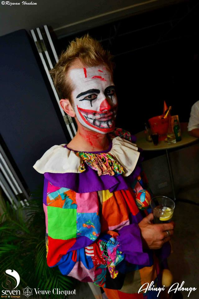 99 Clown Halloween Costume Party Nairobi Kenya Akinyi Adongo