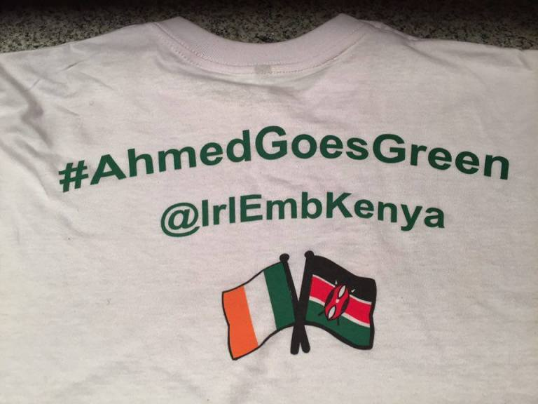 10 St Patricks Day Nairobi GoGreen4PatricksDay AhmedGoesGreen Irish Embassy 2016