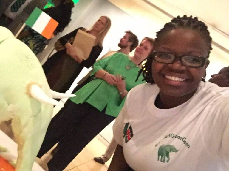 12 St Patricks Day Nairobi GoGreen4PatricksDay AhmedGoesGreen Irish Embassy 2016