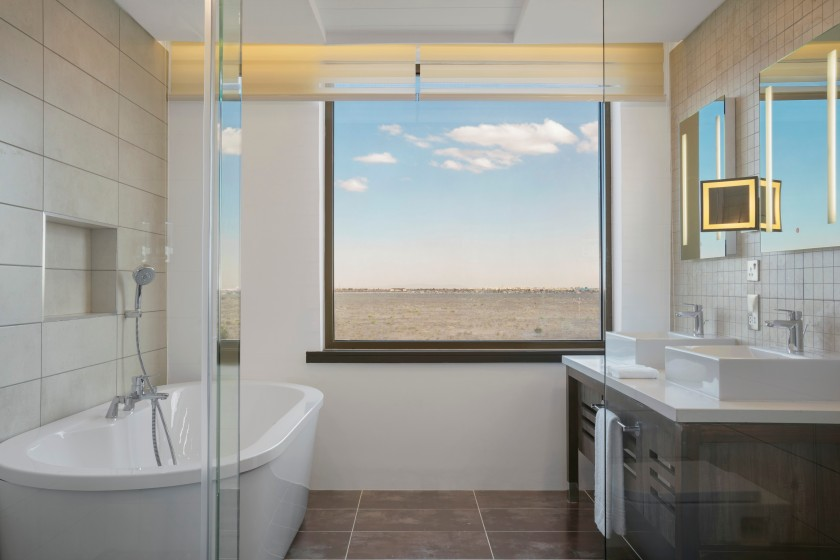 16 Four Points By Sheraton Nairobi Airport 31 Hotels in 31 Days Akinyi Adongo Executive Suite Bathroom